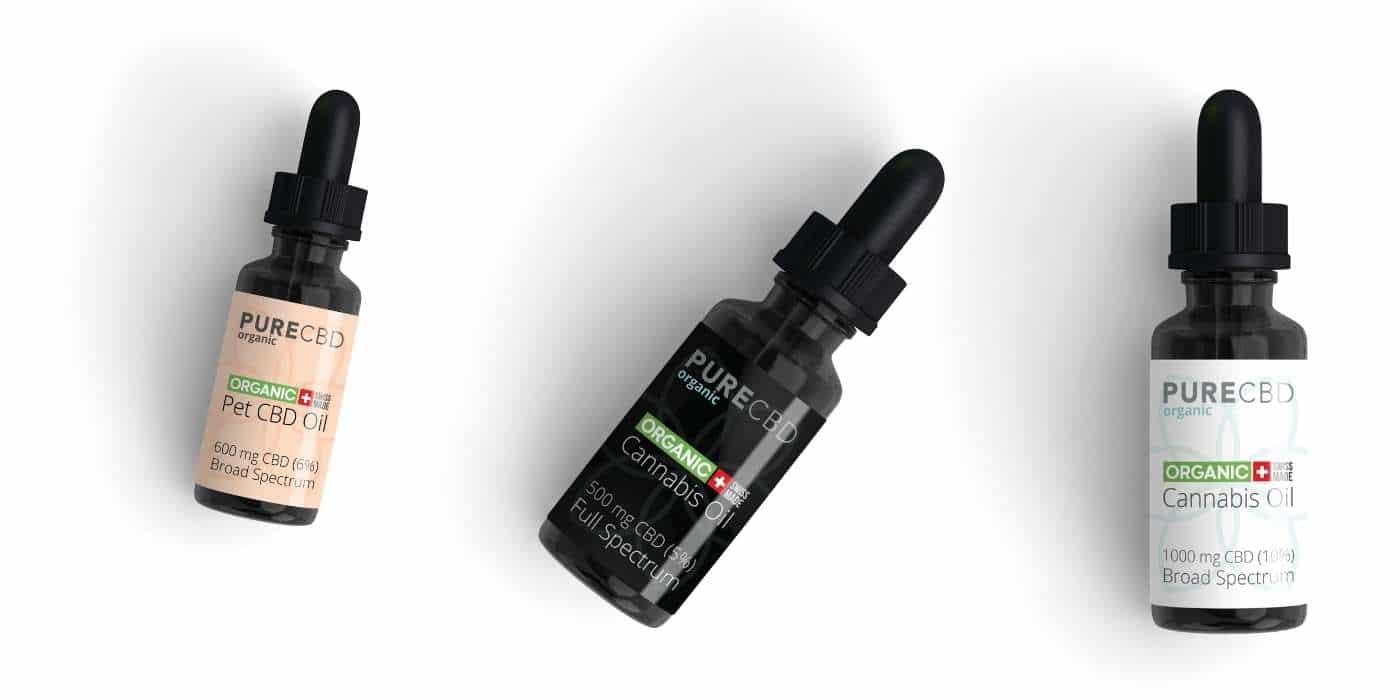 CBD oil UK by Pure Organic CBD
