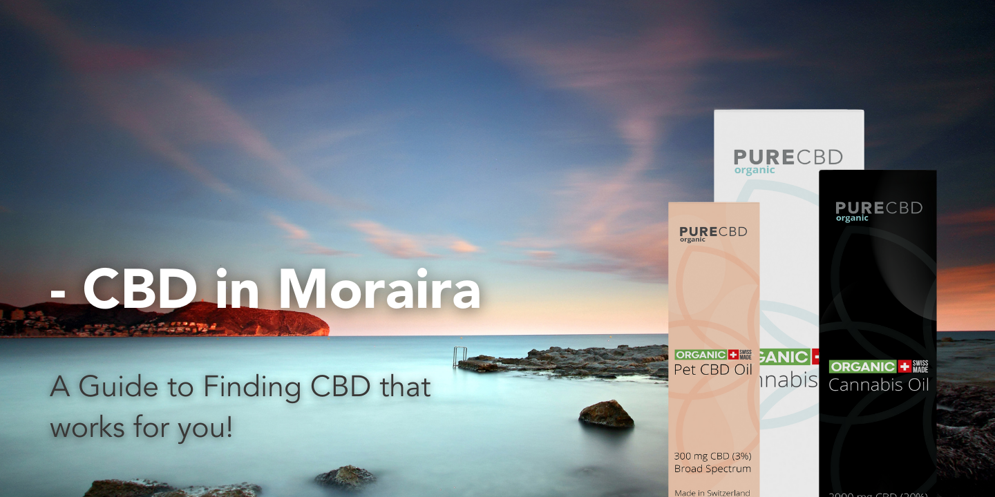 cbd oil in moraira