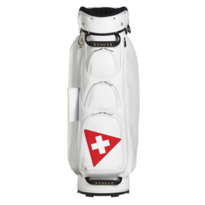 pure organic golf bag front view