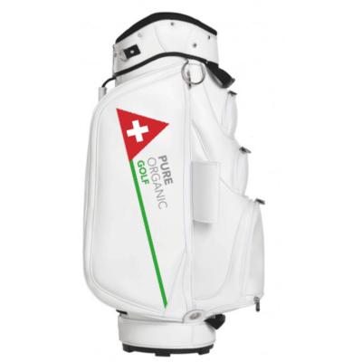 pure organic golf bag side 2 golf CBD oil