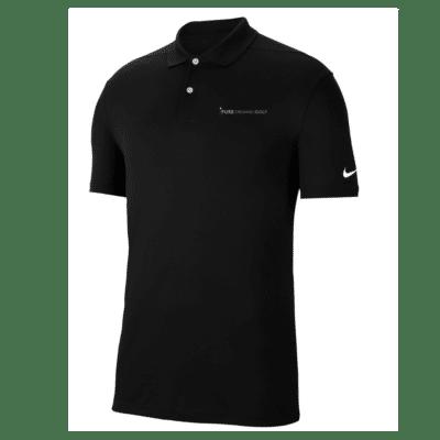 Pure Organic Golf Team Shirt Black