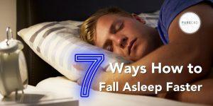 7 ways how to sleep faster