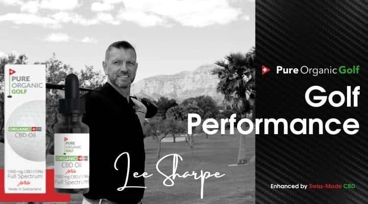 pure organic golf with Lee Sharpe
